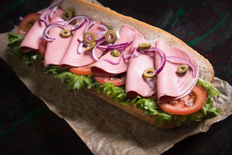 kanapki włoska łódź podwodna zdjęcie stock