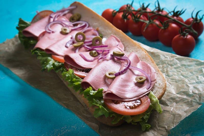 kanapki włoska łódź podwodna obrazy stock