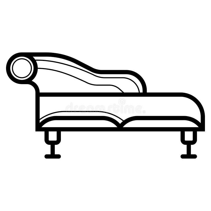 Kanapy ikony wektor ilustracji