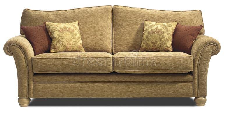 Kanapy krzesła kozetka obrazy stock