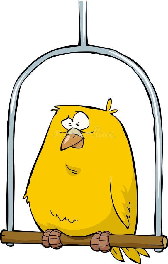 Kanarienvogel stock abbildung