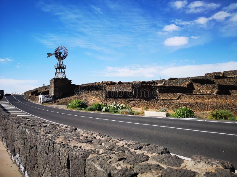 Kanarische Insel Lanzarote stockfotos