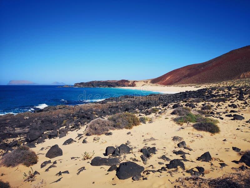 Kanarische Insel, Lanzarote lizenzfreie stockbilder