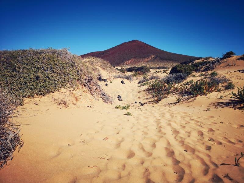 Kanarische Insel, Lanzarote lizenzfreies stockfoto