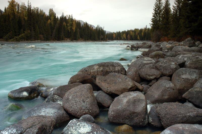 Kanas-Fluss stockfoto