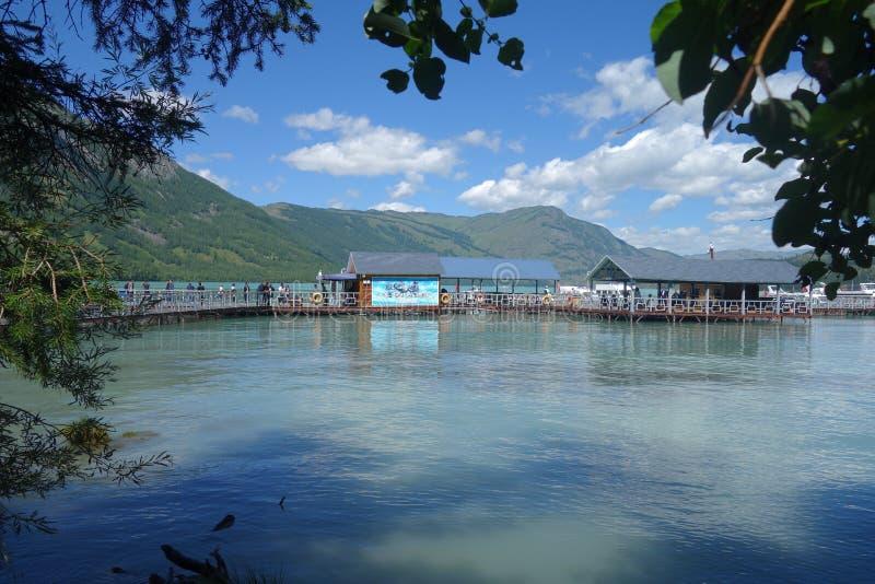 Kanas jezioro, Xinjiang, Chiny obraz stock