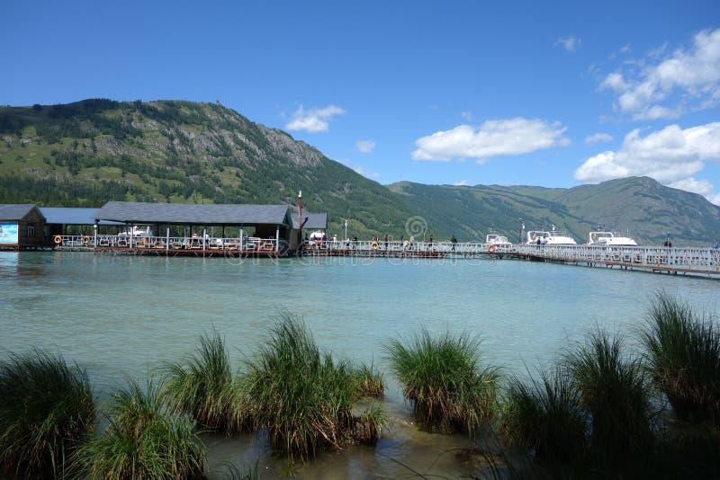 Kanas jezioro, Xinjiang, Chiny obraz royalty free