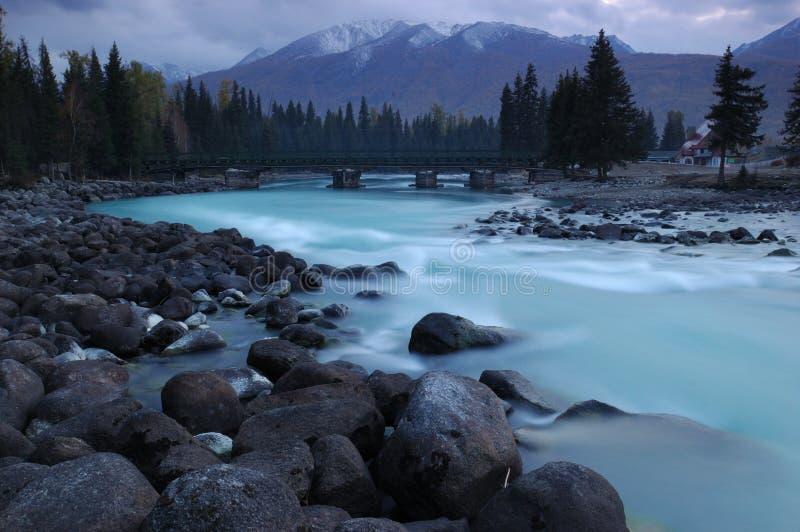 Kanas River royalty free stock photo
