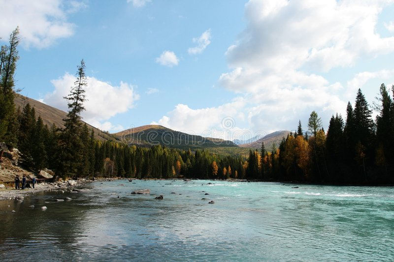 Download Kanas river stock image. Image of lake, currents, fairy - 6944643