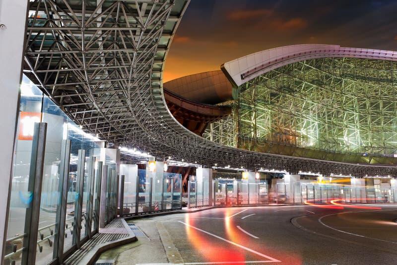 Kanawaza Bus Terminal Royalty Free Stock Photography