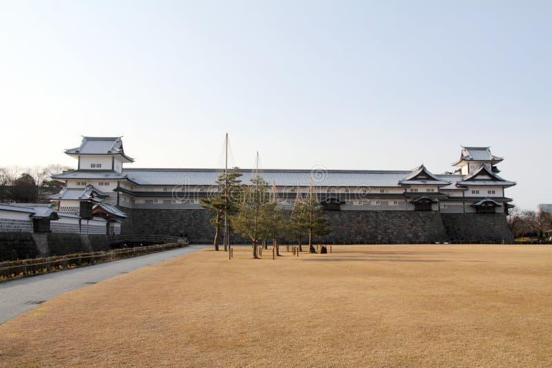 Kanazawa Castle. In Ishikawa, Japan royalty free stock images