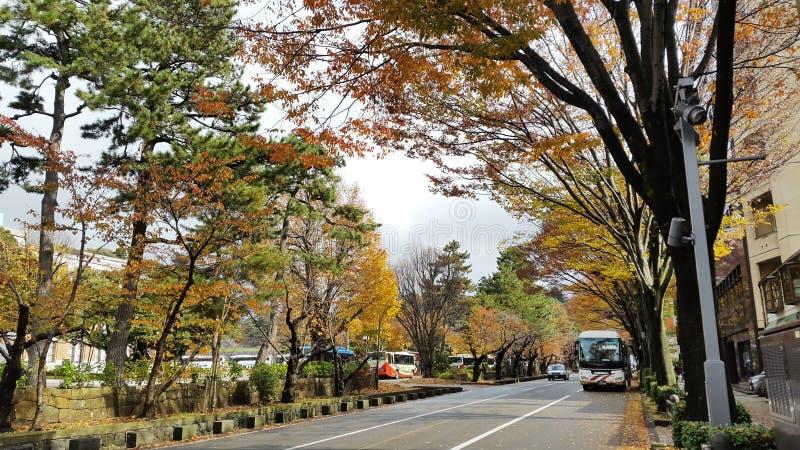 Kanazawa hermoso, Japón fotografía de archivo libre de regalías