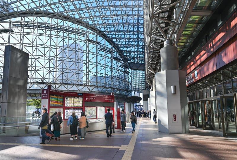 Kanazawa station, Kanazawa, Japonia obrazy stock