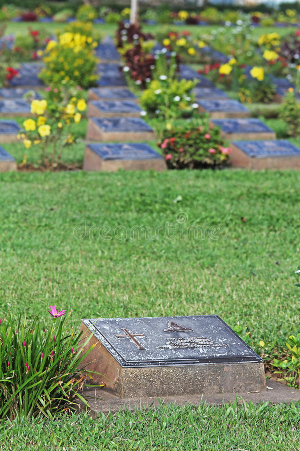 Download KANCHANABURI WAR CEMETERY This Is The Wa Editorial Photography - Image: 42841227
