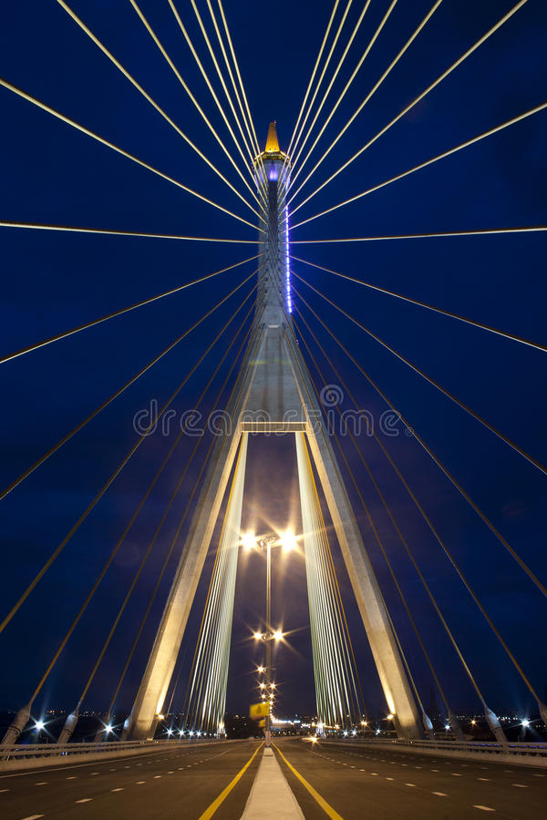 Free Kanchanaphisek Bridge,Bangkok Royalty Free Stock Photography - 20231687