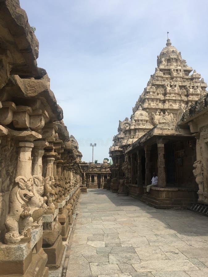 Kancheepuram-Tempel stockfoto