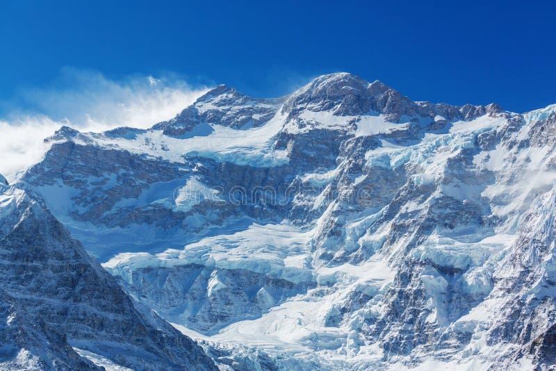 Kanchenjunga region royaltyfri fotografi