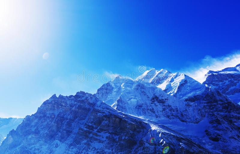 Kanchenjunga region zdjęcie royalty free