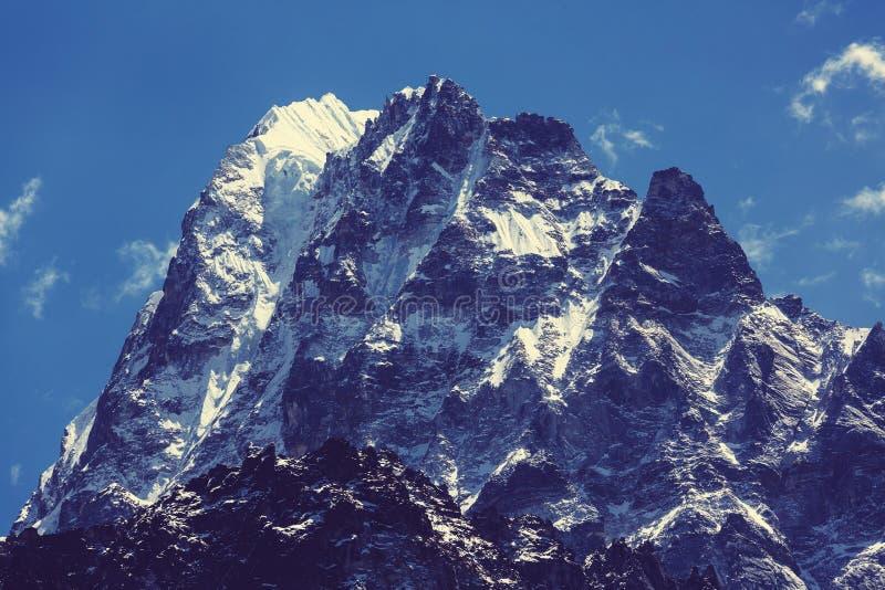 Kanchenjunga region royaltyfria foton