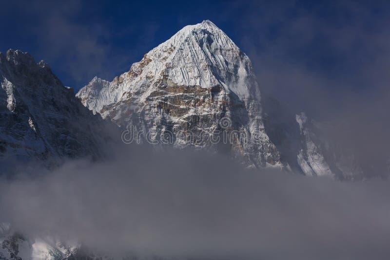 Kanchenjunga region royaltyfria bilder
