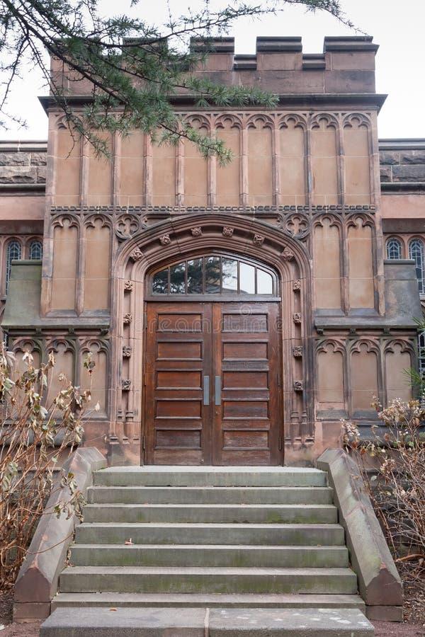 Kanclerza Hall Zielony wejście obraz royalty free
