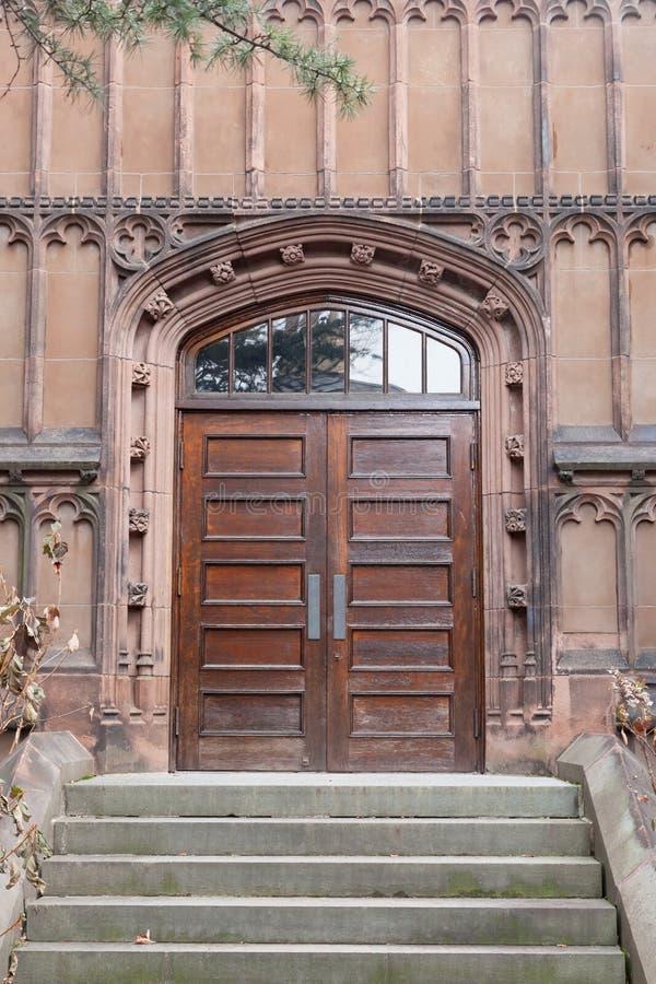 Kanclerza Hall Zielony wejście fotografia royalty free