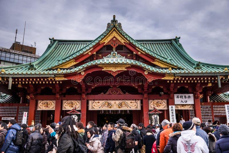 Kanda Shrine stock photo