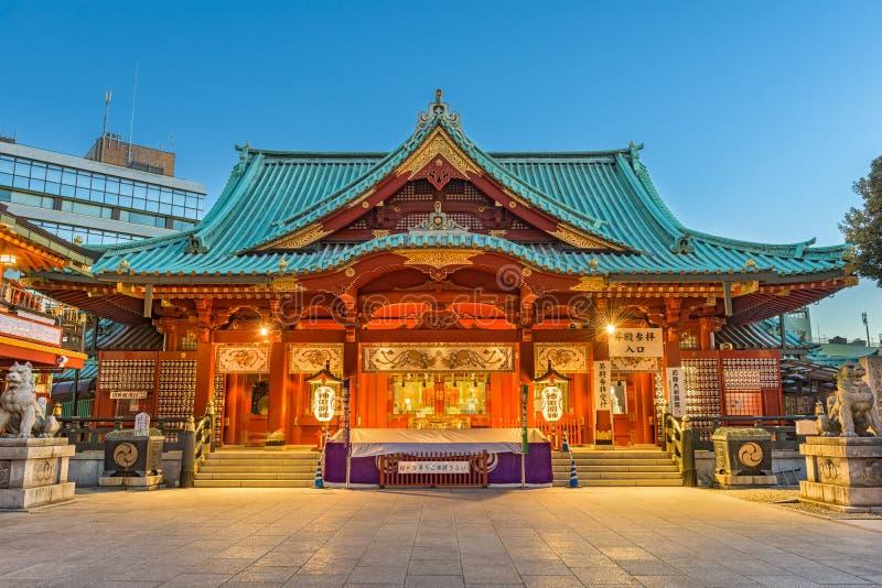 Kanda Shrine in Tokyo stock photography