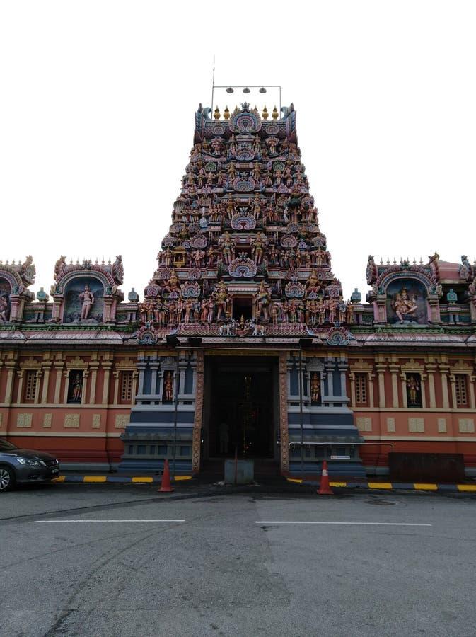 Kandasamy Hindoese tempel royalty-vrije stock fotografie