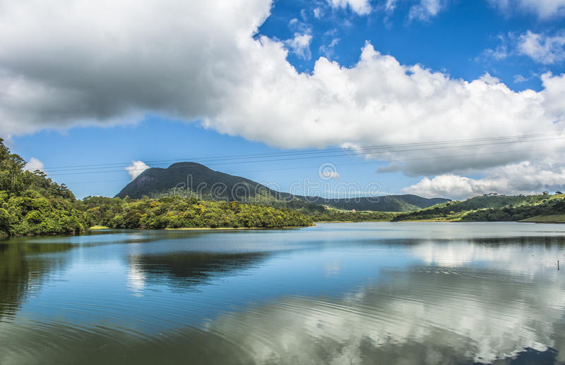 Kande Ela Jeziorny Nuwara Eliya Sri Lanka zdjęcia stock