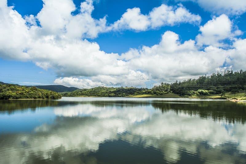 Kande Ela Lake Nuwara Eliya Sri Lanka fotografia stock libera da diritti