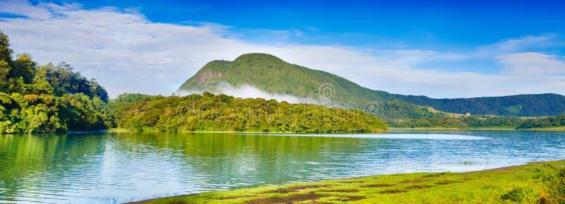 Kande Ela rezerwuar Piękny krajobraz Sri Lanka panorama zdjęcia royalty free