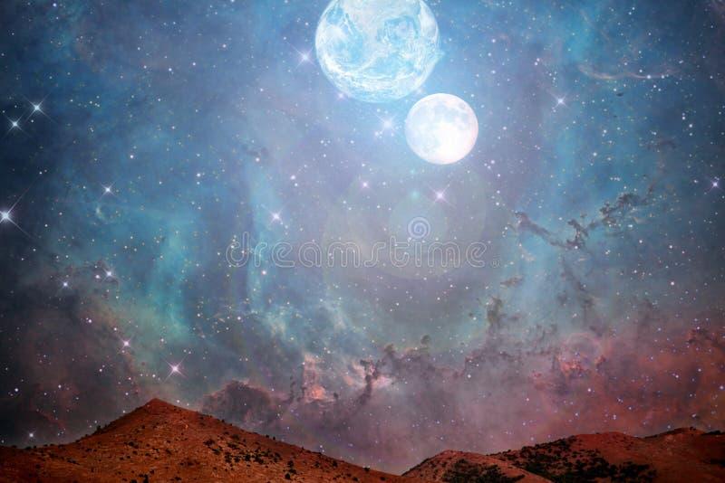 Kandscape di Marte illustrazione vettoriale