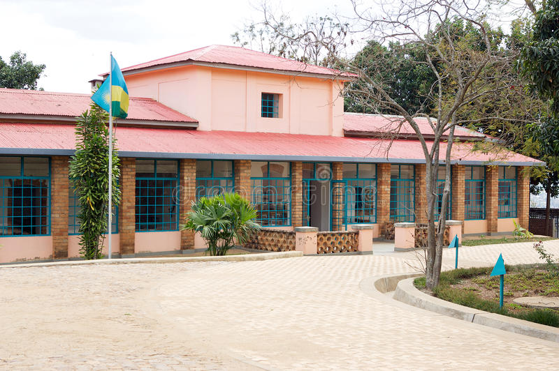 Kandt House Museum of Natural History. Is a museum in Kigali, Rwanda. It is under the responsibility of the Institute of National Museums of Rwanda. In memory royalty free stock images