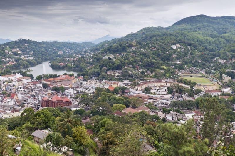 Kandy - Σρι Λάνκα στοκ φωτογραφία με δικαίωμα ελεύθερης χρήσης