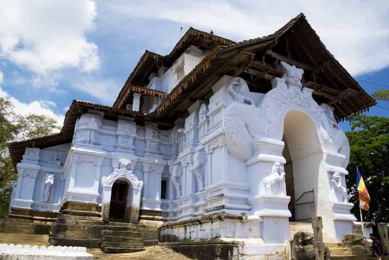 kandy lanka lankathilaka sri świątyni viharaya zdjęcie royalty free