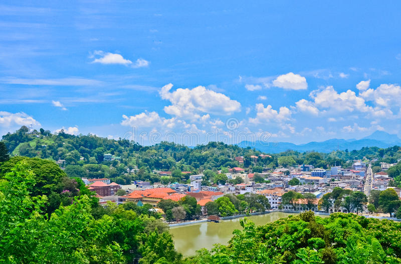 Kandy miasto - Sri lanka zdjęcie stock