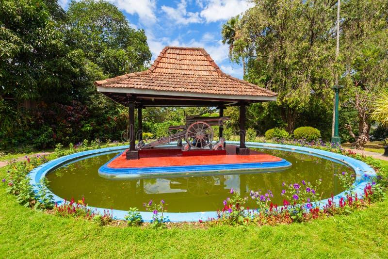 Kandy Royal Palace Park. KANDY, SRI LANKA - FEBRUARY 20, 2017: Kandy Royal Palace Park is located in Kandy City, Sri Lanka. Royal Palace Park is a public park in royalty free stock images