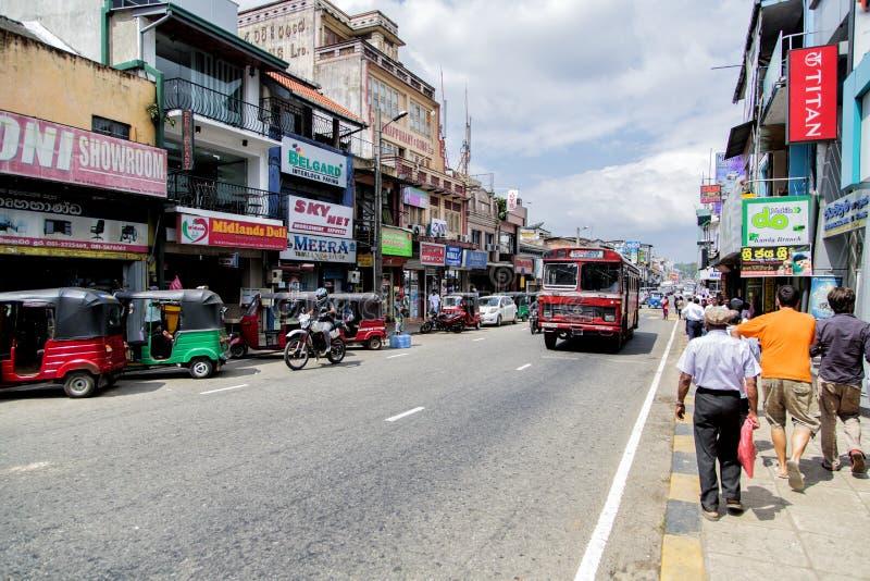 Kandy Sri Lanka fotografering för bildbyråer