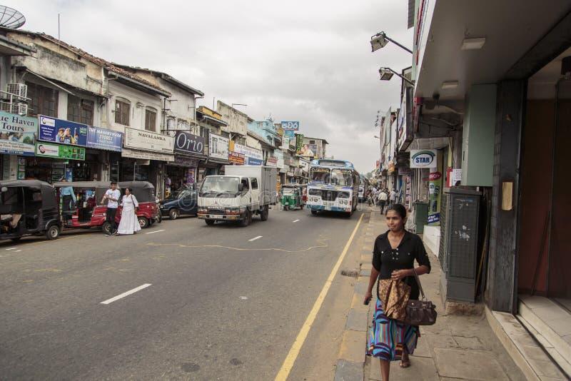 Kandy Sri Lanka arkivfoton