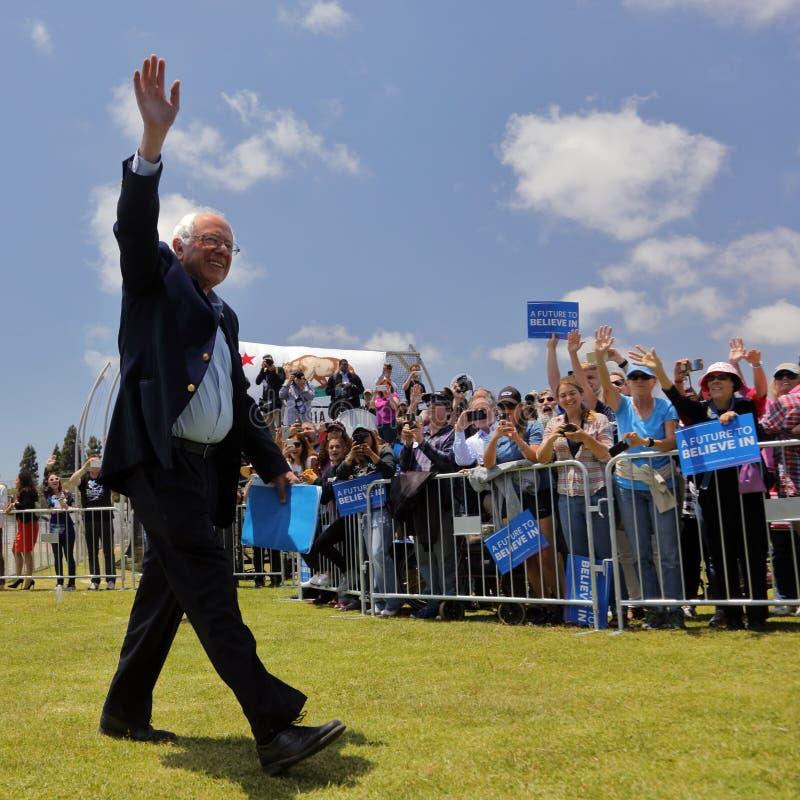 Kandyday Na Prezydenta Bernie Sanders gospodarzi Prezydencki Campaig zdjęcie stock