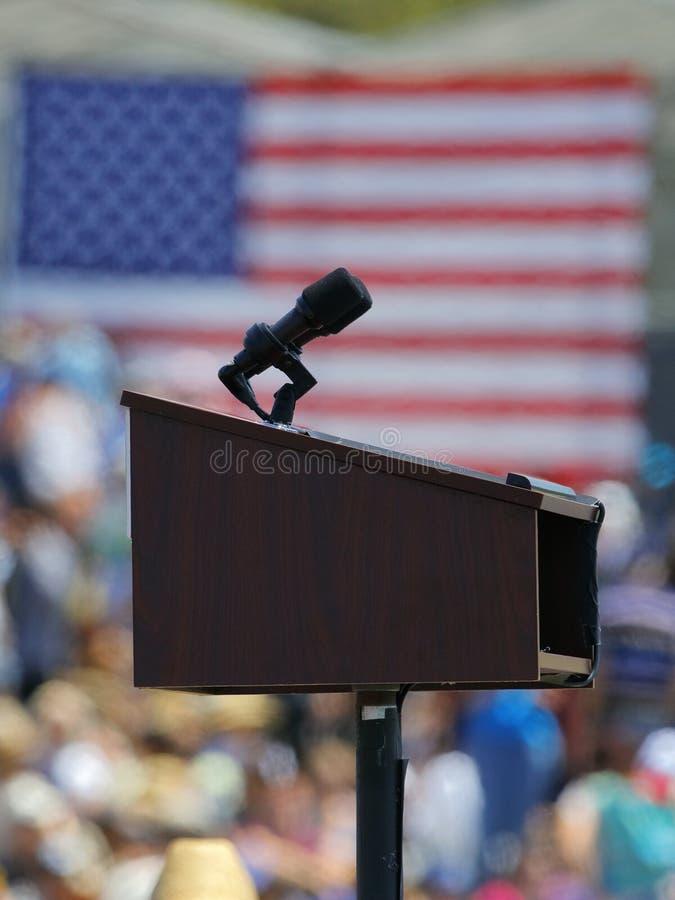 Kandyday Na Prezydenta Bernie Sanders gospodarzi Prezydencki Campaig zdjęcia royalty free