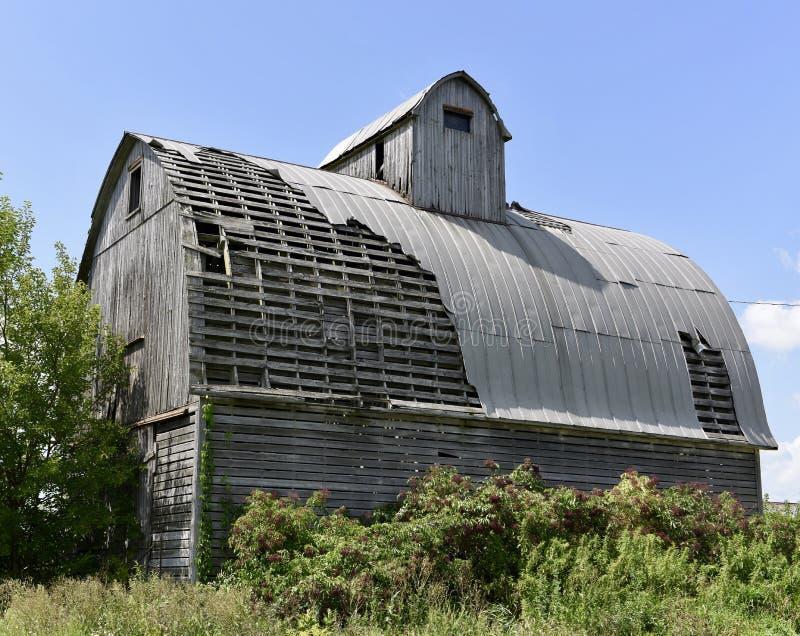 Kane County Barn dilapidado fotos de archivo libres de regalías