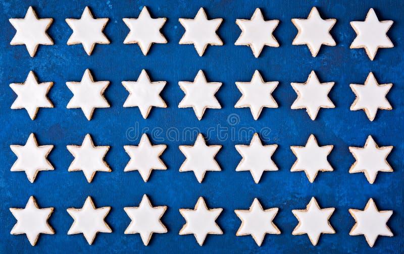 Kanelbrun stjärnabakgrund arkivfoto