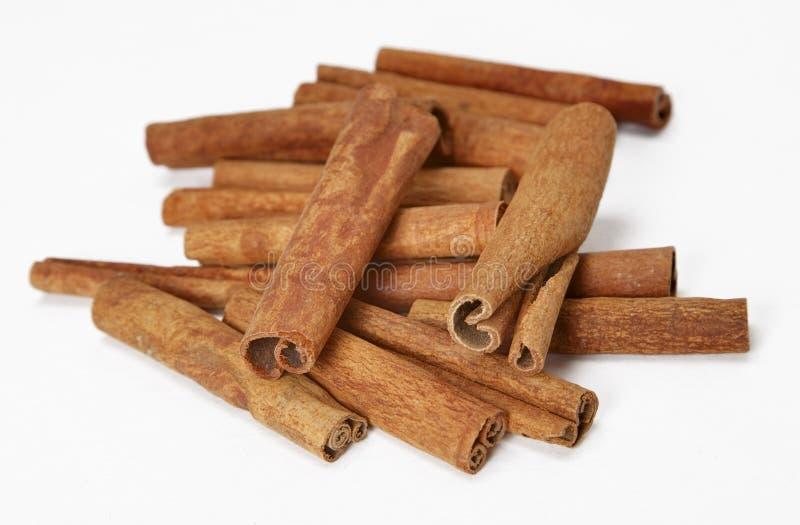 kanelbruna sticks royaltyfri bild