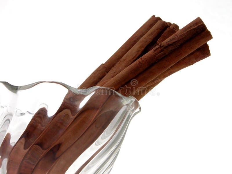kanelbruna sticks arkivbild
