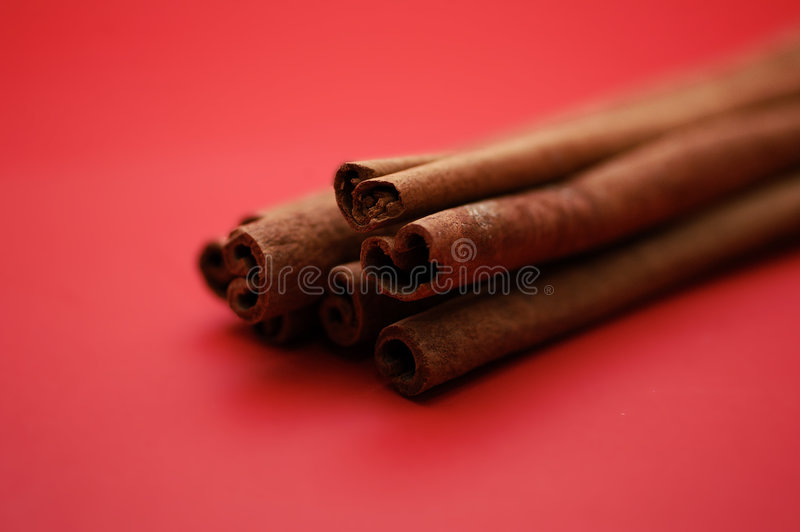 kanelbruna sticks arkivbilder