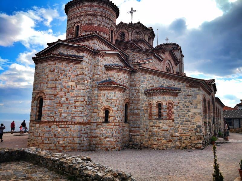 Kaneo εκκλησιών της Οχρίδας στοκ εικόνα με δικαίωμα ελεύθερης χρήσης