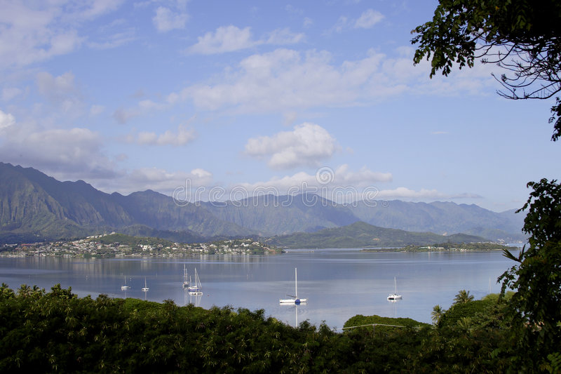 Kaneohe Bay royalty free stock images