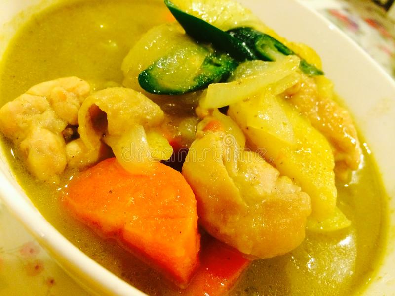Kang Keaw Warn Chicken fotografia stock libera da diritti